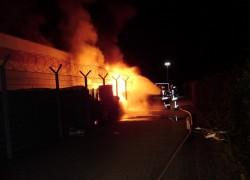 Feuermeldung; Hehlenbruchweg - Jawoll-Markt