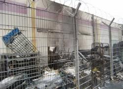 Nachlöscharbeiten; Hehlenbruchweg - Jawoll-Markt