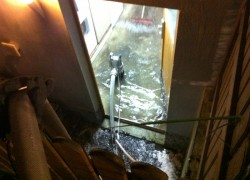 Wasserrohrbruch; Ginsterweg